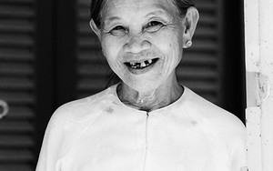 Amiable Grin Of An Older Woman