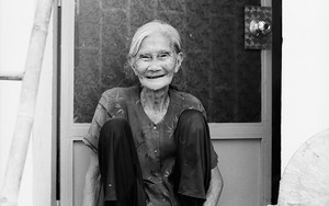 Experienced Smile Of An Older Woman