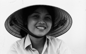 Genial Smile Under The Conical Hat