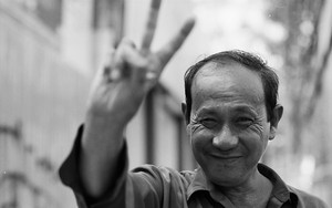 Man With Peace Sign