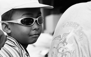 Boy With Sunglasses And A Cap