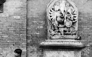 Man And Ganesha
