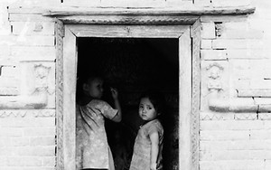 Kids In The Small Shrine