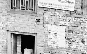 旧市街にあった店の入口