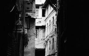 Figures In The Dark Alleyway