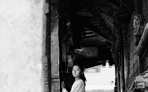 Girl In Rato Machhendranath Temple