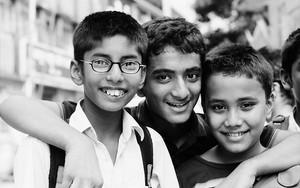 Three Boys Were Smiling