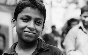 Portrait Of A Boy Wearing A Polo Shirt