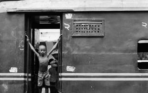 列車の少年