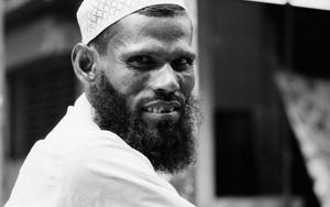 Muslim Man Wearing A Taqiyah