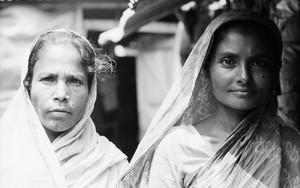 Two Women In Shawls
