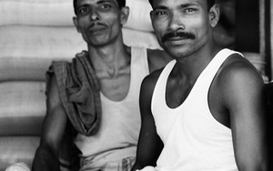 Workers With Mustache