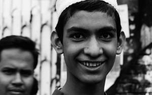Young Man Wearing Taqiyah