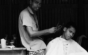 Two Men In The Barber