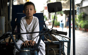 Boy On The Driver's Seat