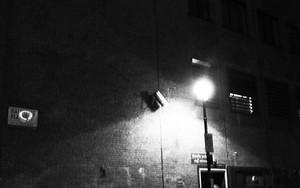 Street Light In The Dark Street