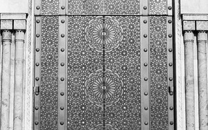 Door Of Hassan II Mosque