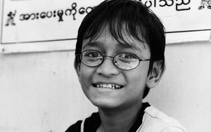 Boy With Vampire Teeth