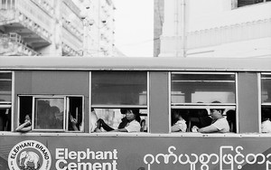 Local Bus In Yangon