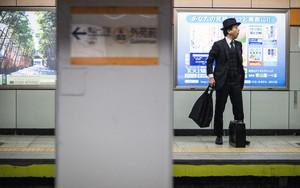 Man Wearing Three-piece Suit