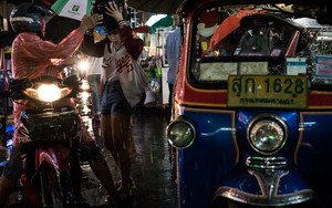 Tuk-tuk And Motorcycle Taxi
