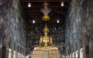 Buddha Statue In Wat Suthat