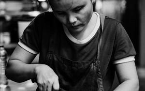 Woman Mincing