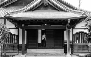 Priestess In Ushijima Jinja