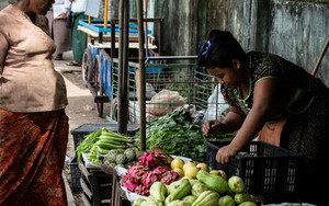 Greengrocery Outside Insein Station