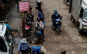 Trucks, Motorbikes And Pedicab
