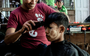 Smiling Barber