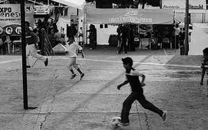 Football In The Small Square