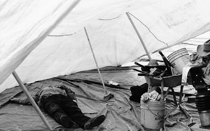 Nap In The Tent