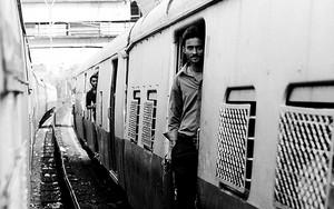Man At A Door Of A Train