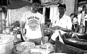 Two Men At The Food Stall