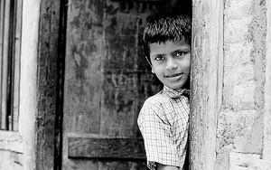 Surprising Boy At The Door