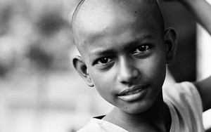 Boy With Clean-shaven Head