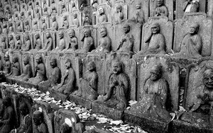 Statues Of Buddha In Daien-Ji