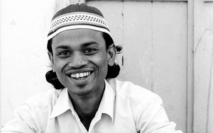 Man Wearing A Cap Smiles