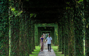 Couple In Taukkyan War Cemetery
