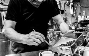 Man Brewing Tea