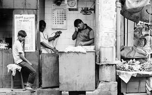 Three Men In A Shop