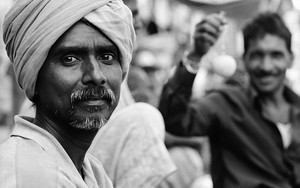 Eyes Of A Turbaned Man