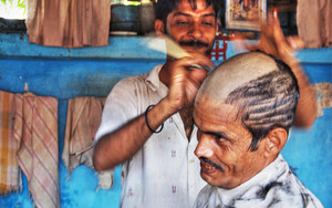 Tonsure In The Barber