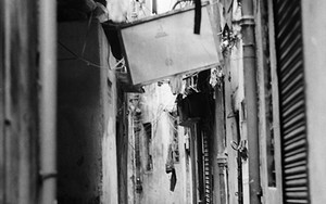 Working Figure In The Alleyway
