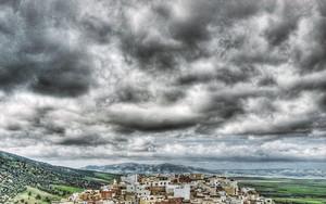 Cityscape Of Moulay Idriss