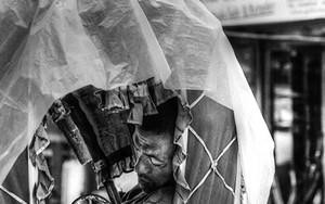 Nap Of A Rickshaw Wallah