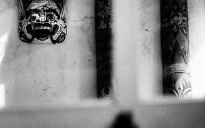 Mask Of Barong On The Wall