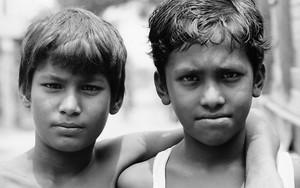 Two Fierce-faced Boys