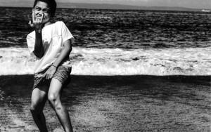 Boy Striking A Provocative Posture